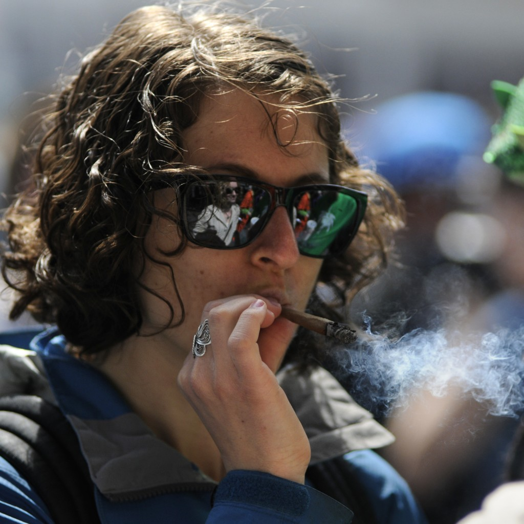 Stoner Roommate In College With Marijuana SQUARE