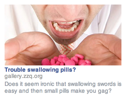 Targeting Sword Swallower With Facebook Ads
