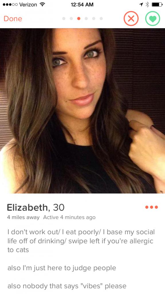Elizabeth Barela Tinder Profile