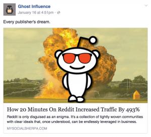 how reddit increases traffic
