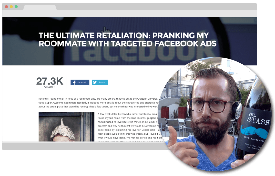 ghost-influence-sales-page-brian-swichkow-facebook-ads-prank
