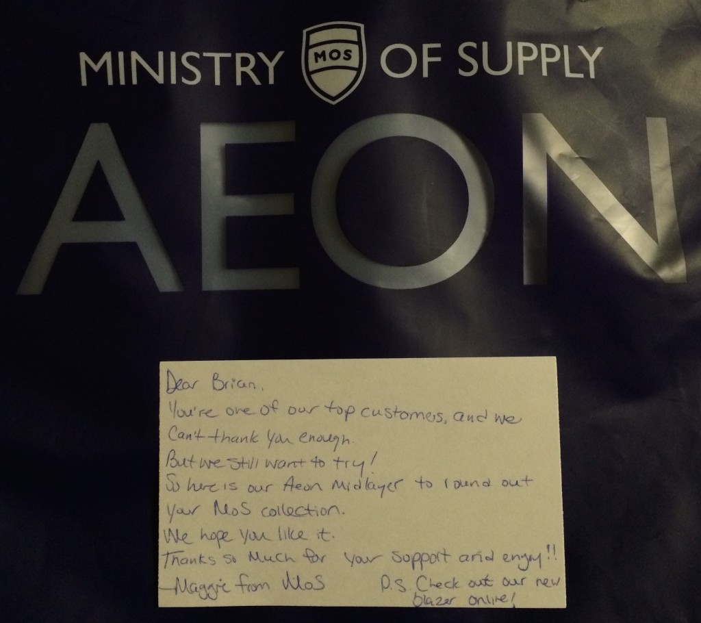 Ministry of Supply Aeon Sweater