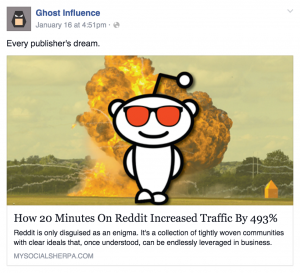 how reddit increases traffic